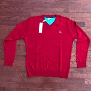 LACOSTE  - Men's V - Neck Sweater